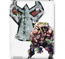 Bane Gridwork Character and Logo iPad Case/Skin