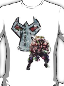 Bane Gridwork Character and Logo T-Shirt