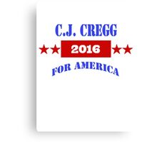 CJ CREGG 2016 Canvas Print