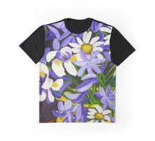 Agapanthus & Daisies Graphic T-Shirt