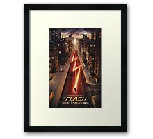 NEW FLASH TV Show Poster! Framed Print
