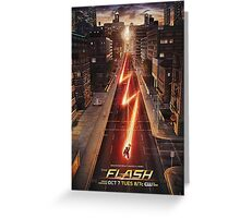 NEW FLASH TV Show Poster! Greeting Card