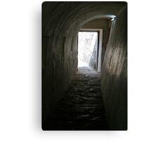 El Morro tunnel exit Canvas Print