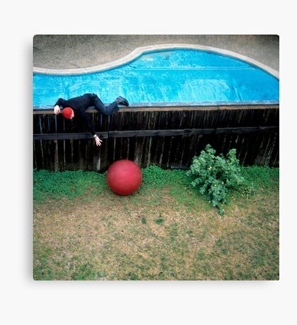 Red Ball Canvas Print