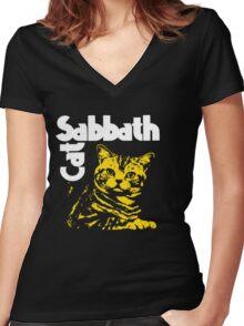 Cat Sabbath - Vol. 4 Women's Fitted V-Neck T-Shirt