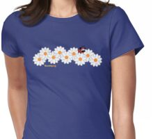 Lady Pug! (grey and white daisies) T-Shirt