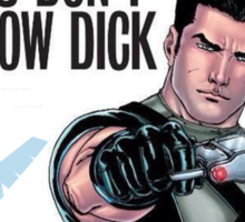 Grayson Comic Series Poster - New 52 Sticker