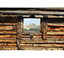 Picture Window Photographic Print