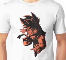 Goku (Kaio-Ken) [White Background] Unisex T-Shirt