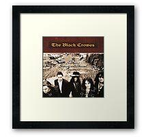THE BLACK CROWES ALBUMS 1 Framed Print