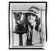 Old Time Photographs - Virginia Rappe Poster