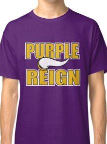 Purple Reign Vikings T-Shirt Classic T-Shirt