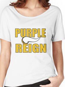 Purple Reign Vikings T-Shirt Women's Relaxed Fit T-Shirt