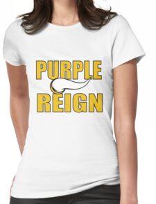 Purple Reign Vikings T-Shirt Womens Fitted T-Shirt