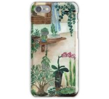 Plant Menagerie - Watercolor Artwork iPhone Case/Skin