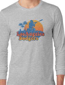 Groovy Dodgers Long Sleeve T-Shirt