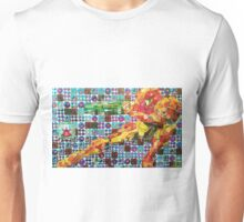 Samus Gridwork with Metroid Unisex T-Shirt