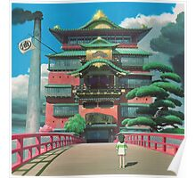 spirited away bathhouse Poster