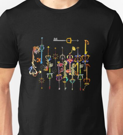 Kingdom heart Keyblade Unisex T-Shirt