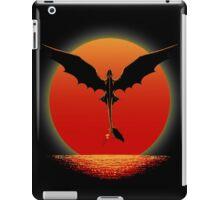 Toothless on Sunset iPad Case/Skin