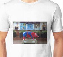 Spider Pig Visits Crown Pools, Ipswich Unisex T-Shirt