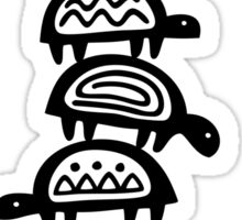 It's turtles all the way down Sticker