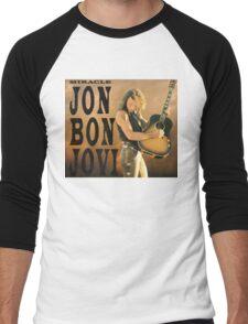 BON JOVI ALBUMS 4 Men's Baseball ¾ T-Shirt