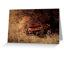The Wagon Greeting Card