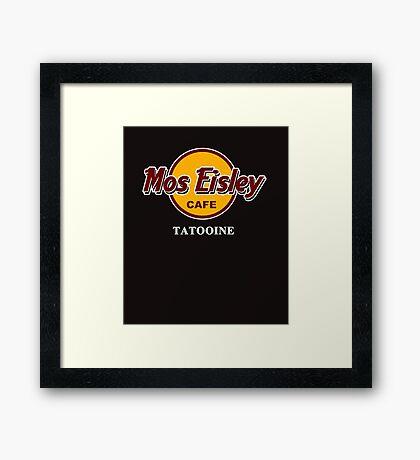 Mos Eisley Cafe Tattoine Framed Print