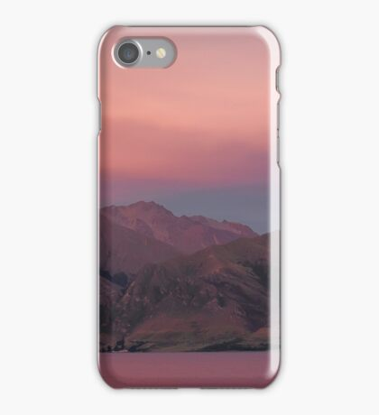 Shades of Pink & Blue iPhone Case/Skin