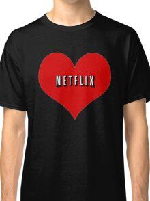 I Love Netflix Classic T-Shirt