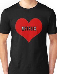 I Love Netflix Unisex T-Shirt