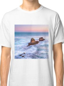 Bay of Islands Sorrento Sunset Square Classic T-Shirt