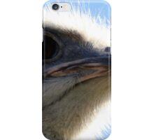 The Ostrich That Bit My Lens iPhone Case/Skin