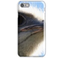 The Ostrich That Bit My Lens iPhone Case/Skin