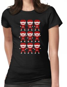 Pixel Dance Womens Fitted T-Shirt