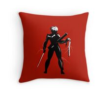 Raiden [Metal Gear Rising] Throw Pillow