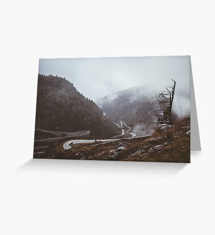 Cars and Curves Greeting Card