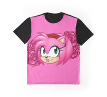 Never Fear, Amy Rose is Here! Graphic T-Shirt