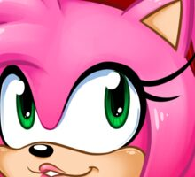 Never Fear, Amy Rose is Here! Sticker