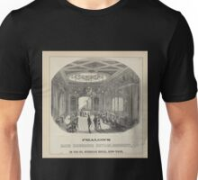 436 Phalon's Hair Dressing Establishment in the St Nicholas Hotel New York Unisex T-Shirt