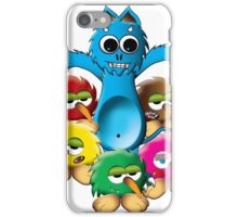 monster boss and his friends iPhone Case/Skin