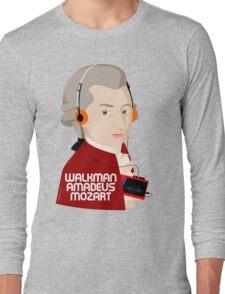 W. Amadeus Mozart Long Sleeve T-Shirt