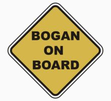 BOGAN ON BOARD Baby Style Sticker Car Window by movieshirtguy
