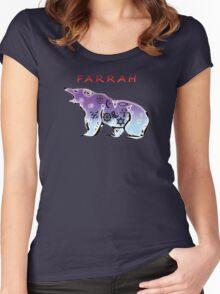 FARRAH Women's Fitted Scoop T-Shirt