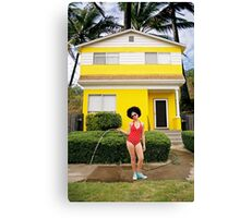 Go Girl Canvas Print