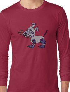 Rex the Robot Dog is Cool and Funny Long Sleeve T-Shirt