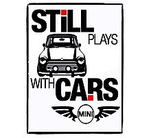 Still Plays with Mini cars Photographic Print