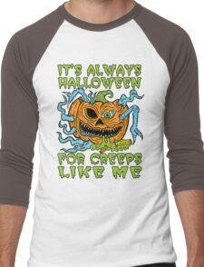 Halloween Creep Men's Baseball ¾ T-Shirt