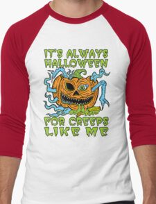 Halloween Creep Men's Baseball ¾ T-Shirt
